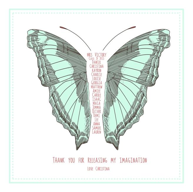 green butterfly 1